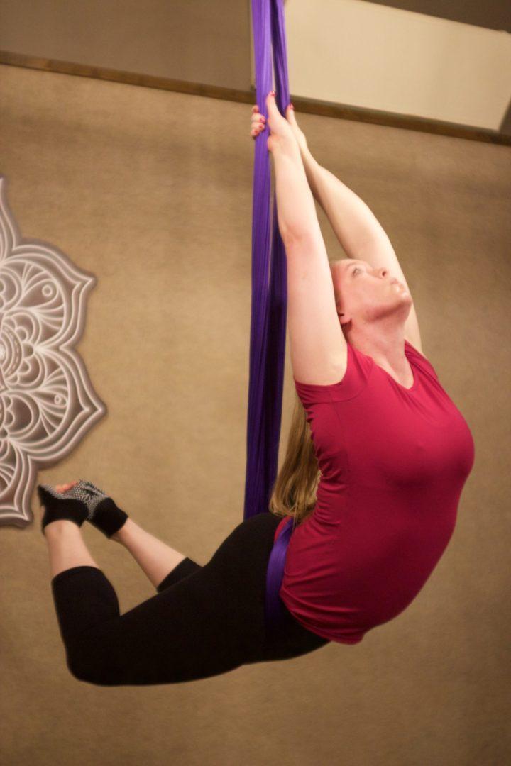 Aerial Yoga Teacher Danielle